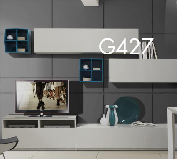 Parete Attrezzata G tipo G427